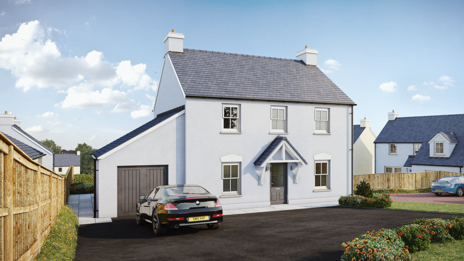 THE FITZMARTIN A Stylish, modern 4 bedroom family home